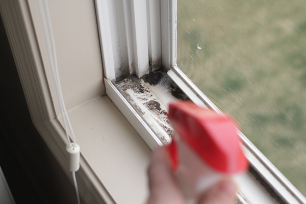 How To Clean Your Dirty Window Tracks With A Diy Cleaner