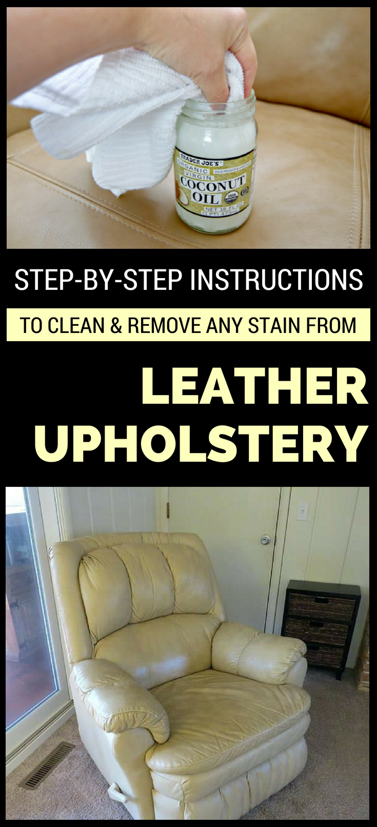 Step-By-Step Instructions To Clean And Remove Any Stain