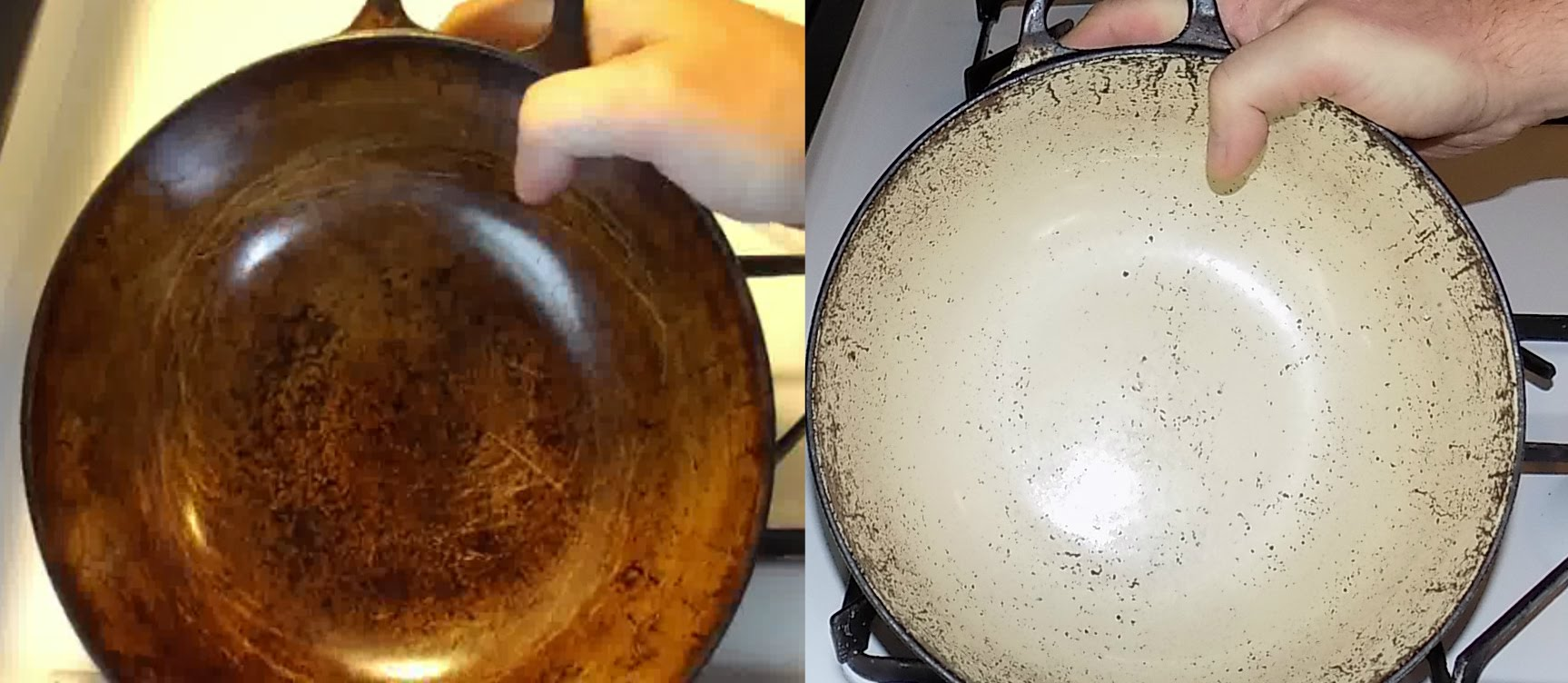 How To Whiten Stained Enamel Cookware In A Few Easy And