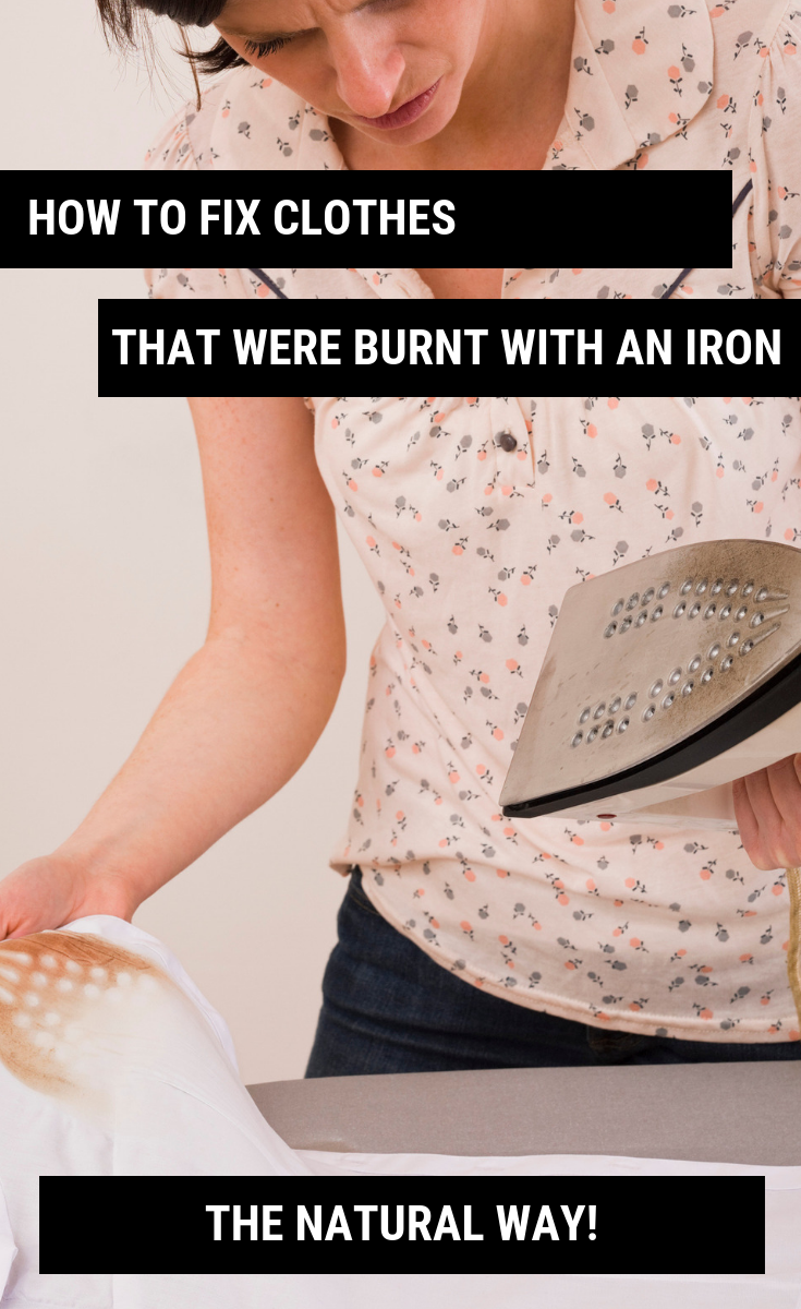 How To Fix Clothes That Were Burnt With An Iron
